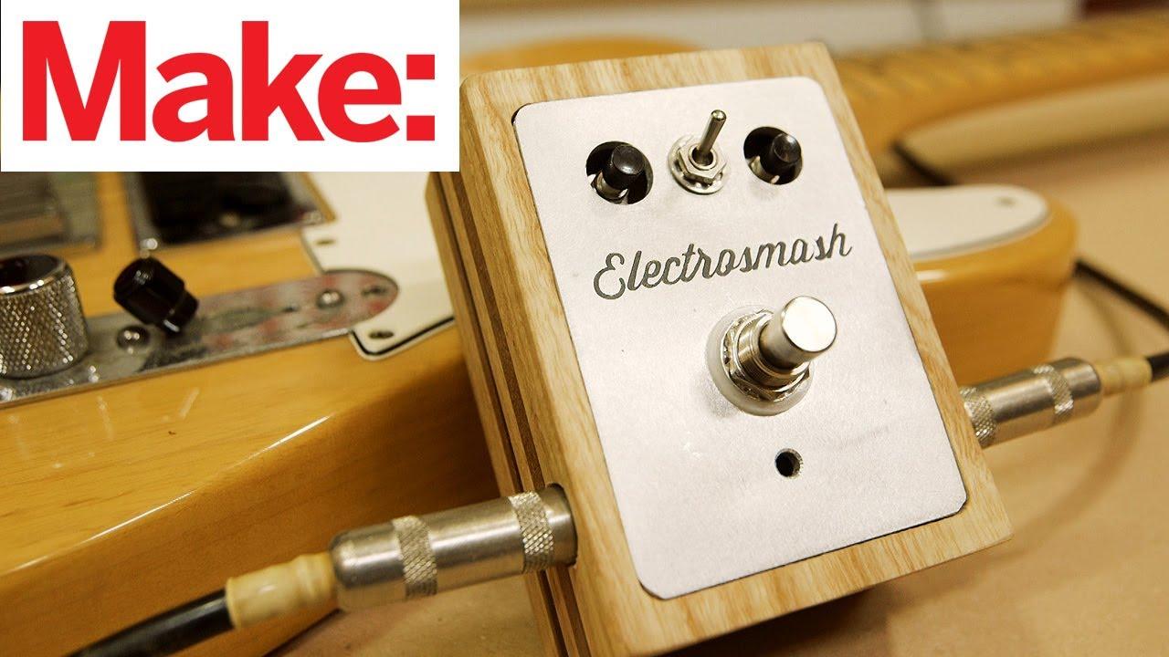 electrosmash arduino guitar pedal custom enclosure youtube. Black Bedroom Furniture Sets. Home Design Ideas