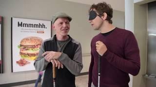 Blind für 90 Minuten – ein Selbstversuch