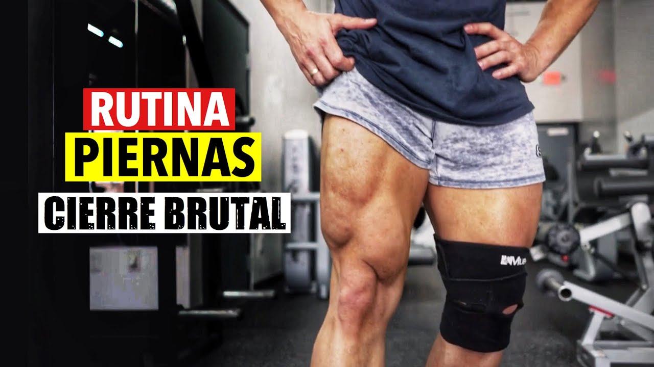 RUTINA DE PIERNAS (¡Cierre Brutal!) | GYMTOPZ