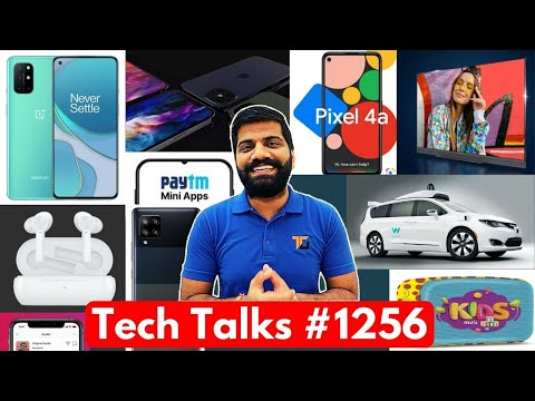 Tech Talks #1256 – OnePlus 8T First Look, Pixel 4a India, iPhone 12, Samsung Cheapest 5G, Exynos1080