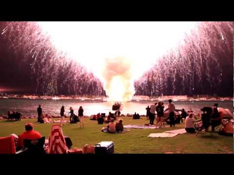 Hellstes Feuerwerk der Welt