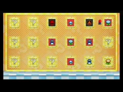 New Super Mario Bros Wii World 3 Power Up Panels 2 4 Wins
