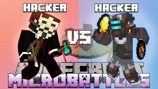 """HACKER vs HACKER!"" Minecraft MICRO BATTLES #22 w/LandonMC"