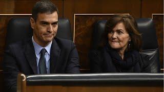Le Parlement espagnol bloque le projet de budget de Pedro Sanchez