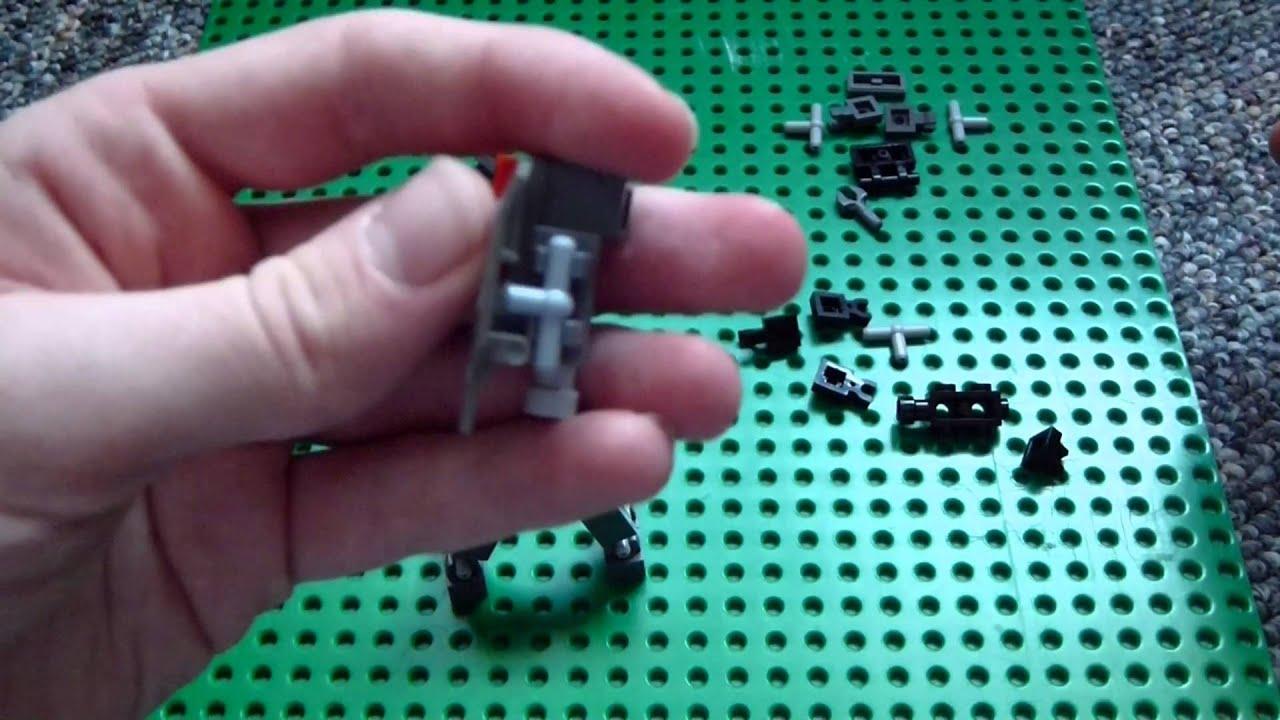 lego mini mech suit instructions
