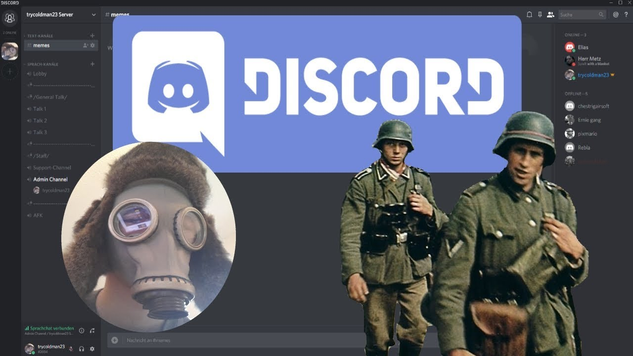 Official trycoldman23 Discord Server