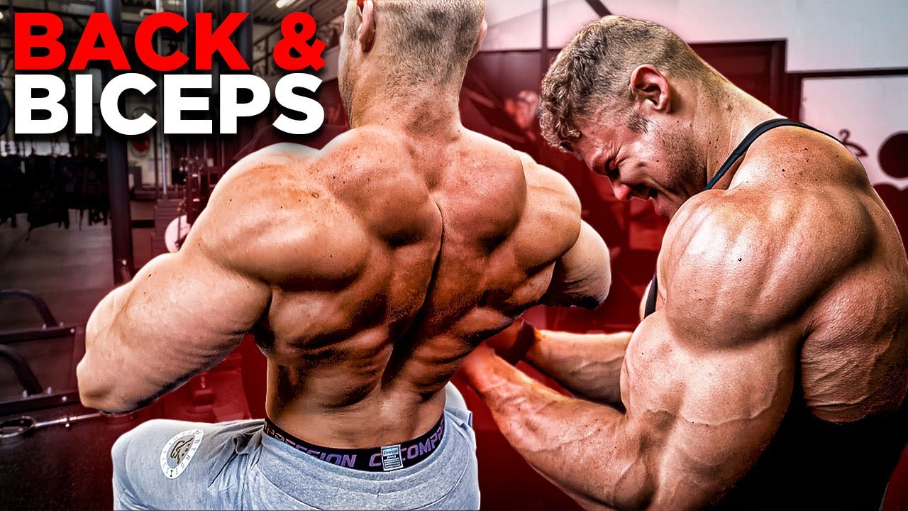 HOW TO HAVE A GREAT BACK WORKOUT WITH *LOWER BACK PAIN*   FULL BACK + BICEPS