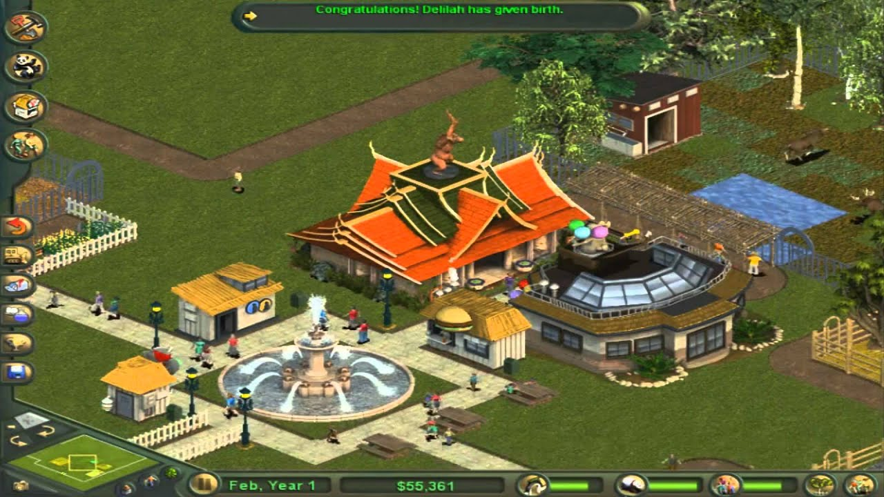 Zoo Tycoon Complete Collection-Scenario 1: Small Zoo (Beginner)