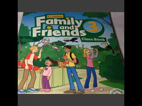 Гдз англиский по книжке Family And Friends Class Book  с.4 с. 5 номер 1, 1, 2, 3, 4.