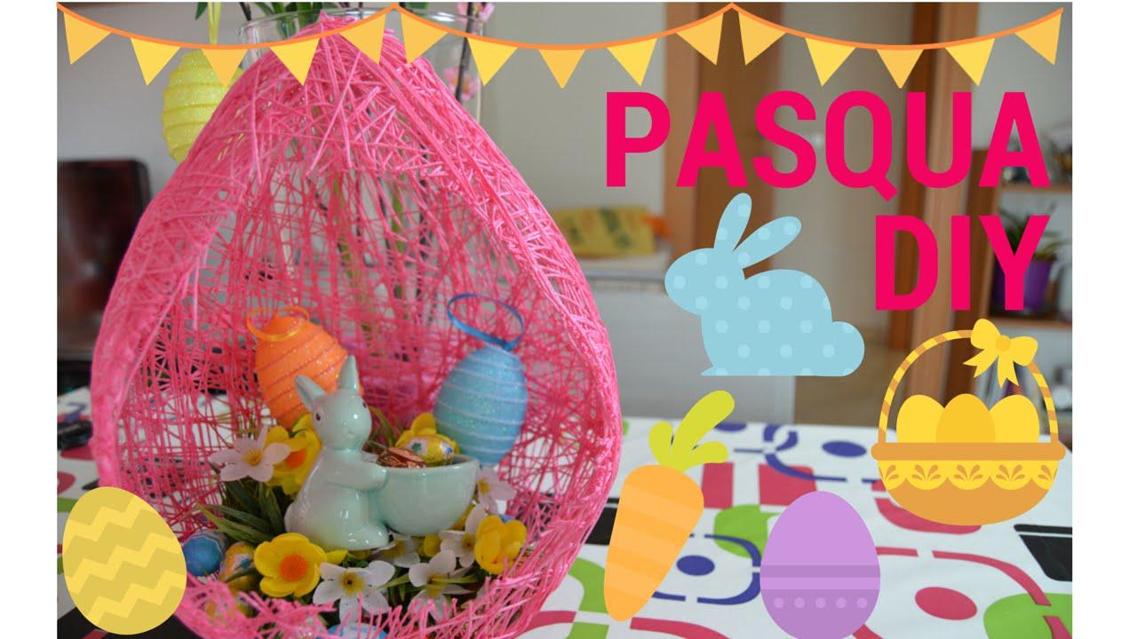 Idee Pasquali In Feltro : Idee pasqua diy ovone di pasqua youtube