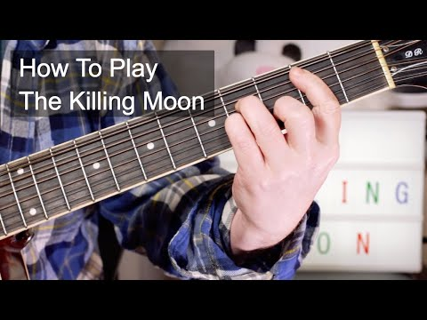 'The Killing Moon' Echo & The Bunnymen Acoustic Guitar Lesson