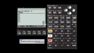 Scientific Notation using the HP-50g Calculator