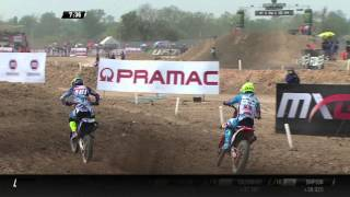 Cairoli, Febvre and Gajser battle MXGP of Thailand 2016 - motocross