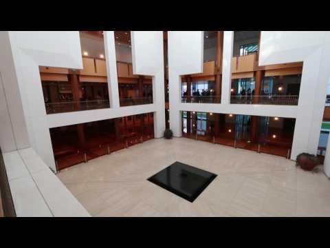 Inside Australian Parliament House, Canberra