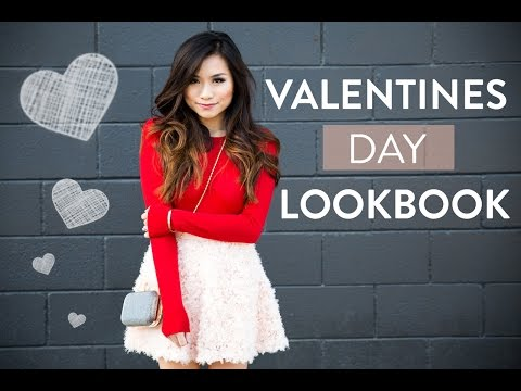 Valentines Day Lookbook   Cute Date Outfit Ideas   Miss Louie