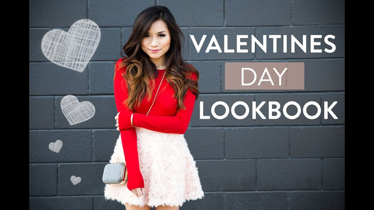 Valentines Day Lookbook Cute Date Outfit Ideas Miss Louie Youtube