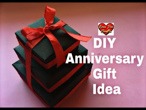 DIY - Anniversary Gift Idea | Valentine's Day/ Anniversary Card