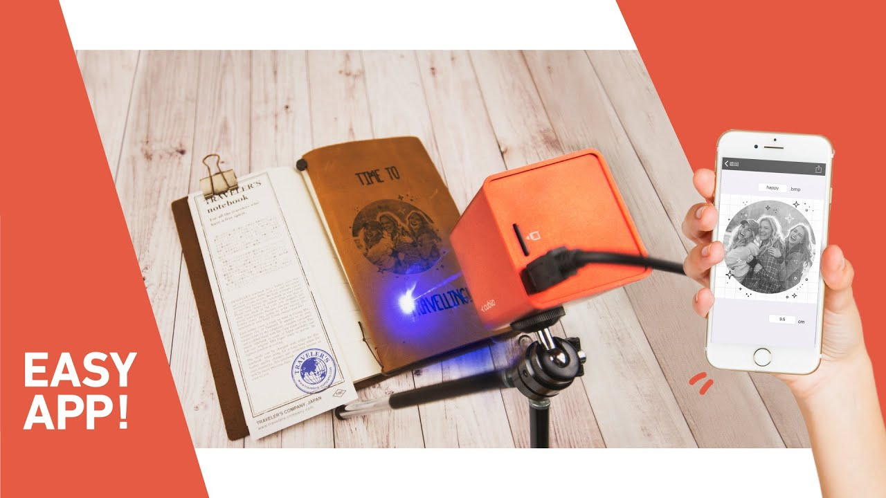Cubiio The Most Compact Laser Engraver Youtube