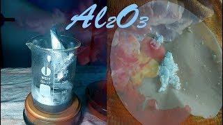 Synthesis of Al2O3 --- HCl-Baking Soda-Aluminium