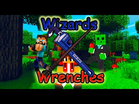 Minecraft| Wizards and Wrenches 2| Ep.15|  Deep Dark Temple