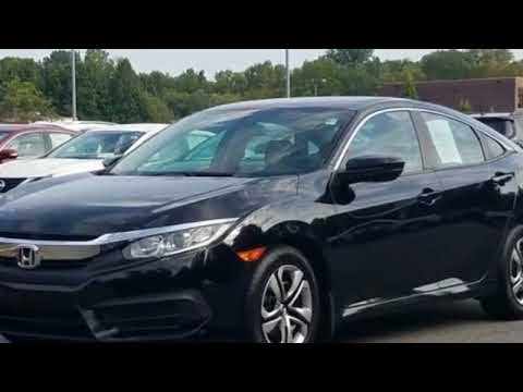 Used 2016 Honda Civic Sedan LX 2HGFC2F59GH509723 Salisbury, Statesville, Lexington, Burlington