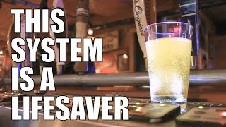 You have to go to the Bottoms Up system - Gronk's Grill and Bar Owner Testimonial