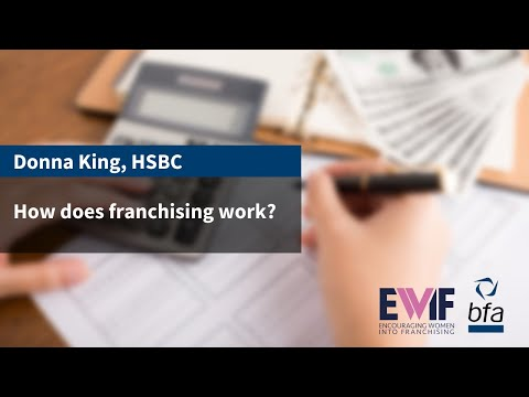 3. How Does Franchising work? With Donna King, HSBC