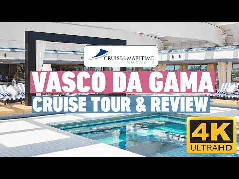 Vasco Da Gama Tour and Review in 4k | Cruise and Maritime Voyages
