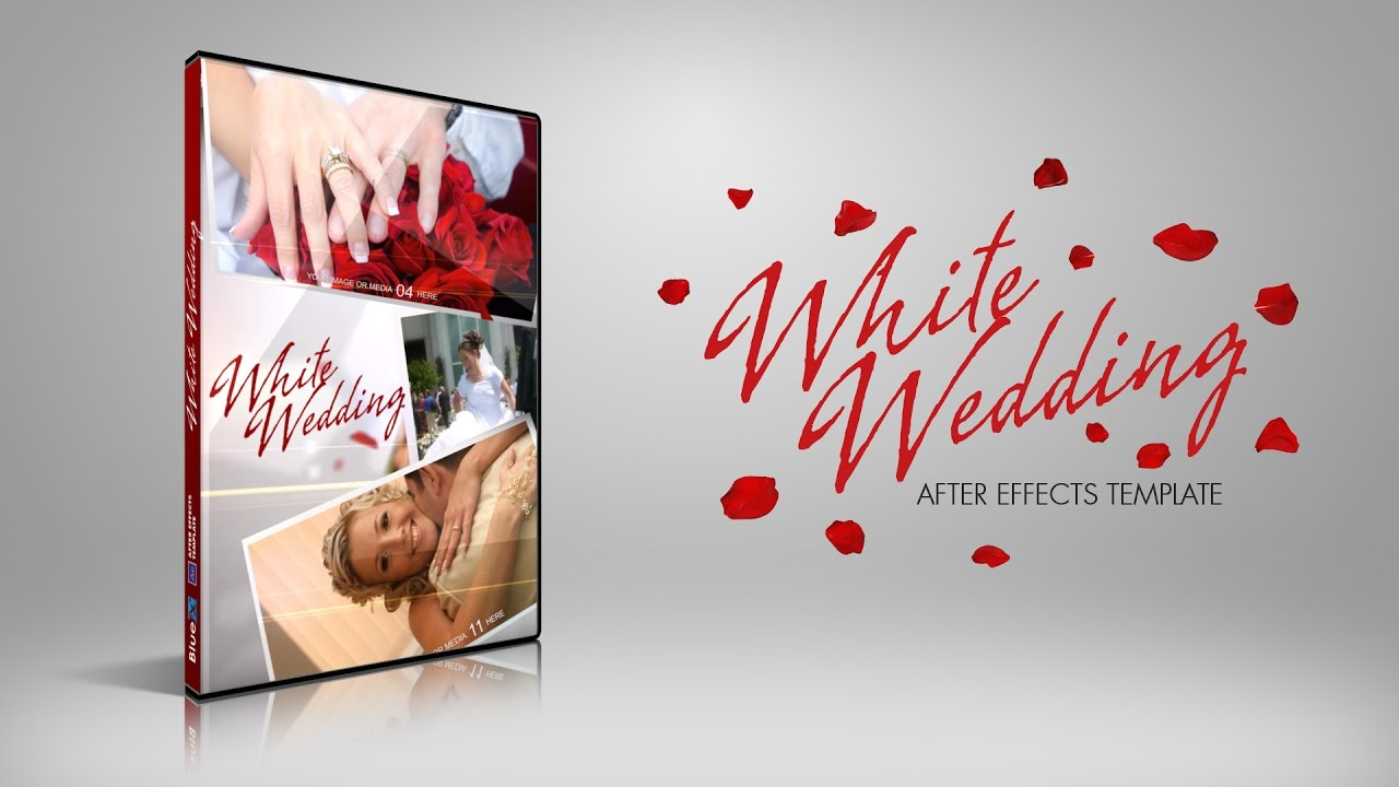 BlueFX - White Wedding After Effects Template