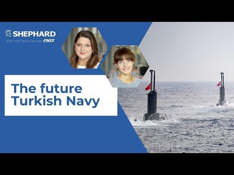 IDEF 2021: The future Turkish navy