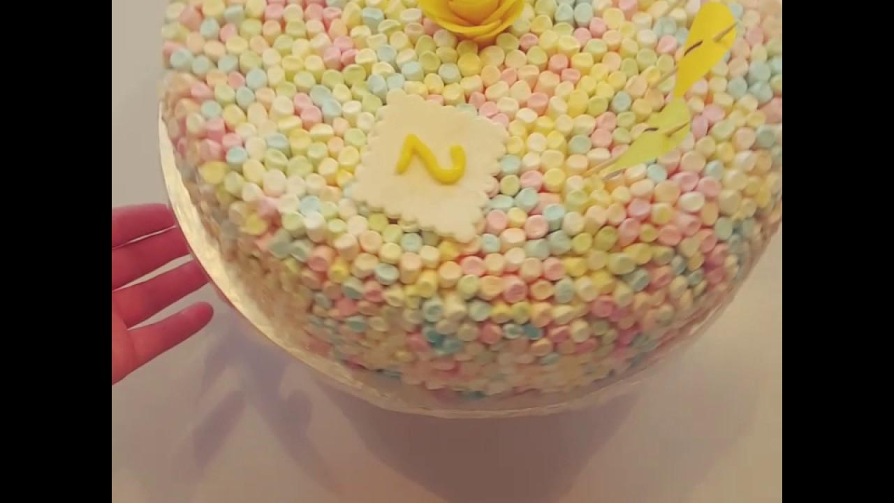 Enkel Barn Tårta Youtube