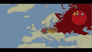 Вторая мировая война в countribols. 1 серия.