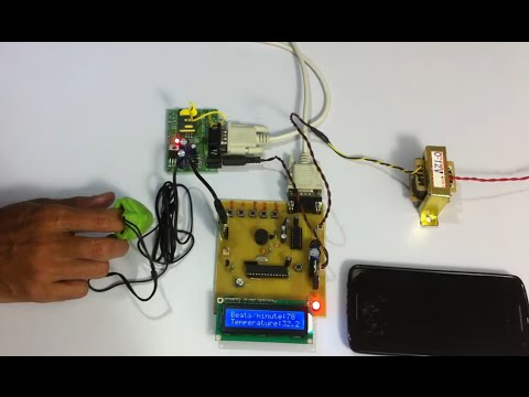 GSM Based Patient Health Monitoring Project