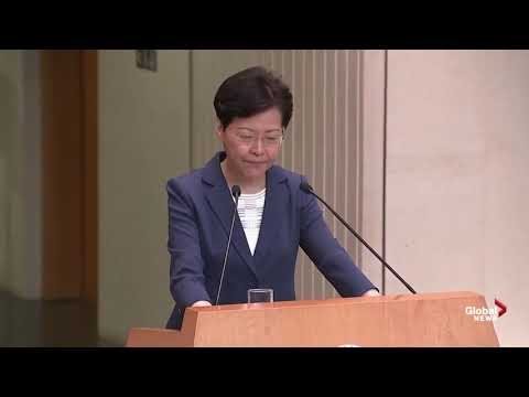 Reuters reporter asks Carrie Lam about autonomy in Hong Kong (August 13, 2019)