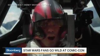 'Star Wars' Fans Go Wild at Comic-Con