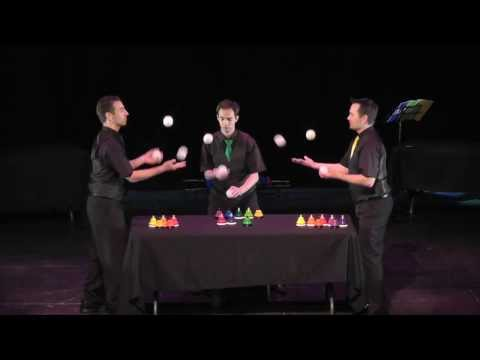 Playing By Air: Musical Bells, Cups, & Juggling Live on Stage