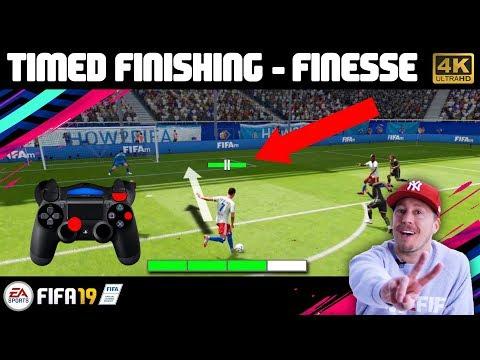 FIFA 19 Timed Finishing | Der Perfekte Torabschluss & R1 Finesse Schüsse | Schuss Tutorial (deutsch)