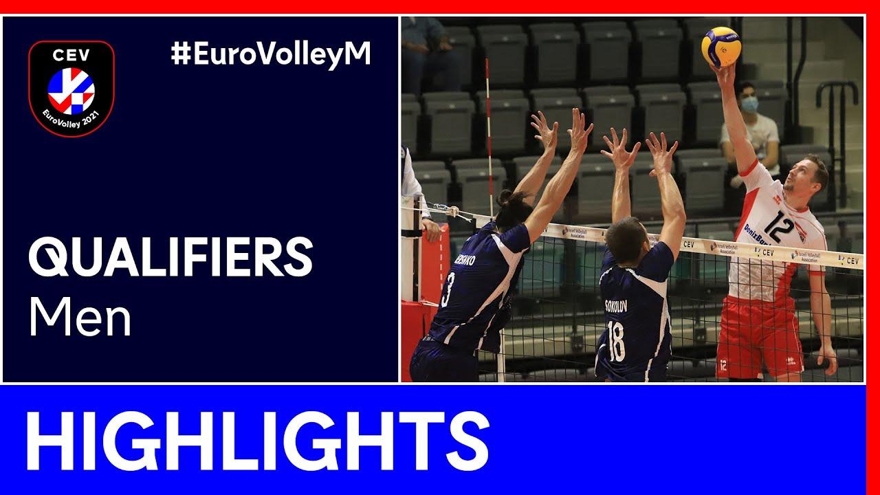 Israel vs. Austria Highlights - #EuroVolleyM Qualifiers