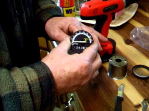 Cable Driven Tachometer Repair John Deere 855 Youtube