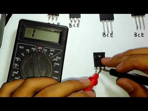 Cara Cek Transistor