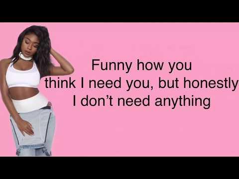 Jessie Reyez - BodyCount (Remix) lyrics feat. Normani & Kehlani