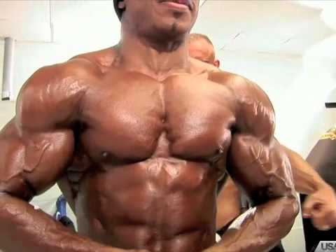 Voodoo Nutrition sponsored athlete WBFF Pro Marcus Taylor Muscle Model 2016