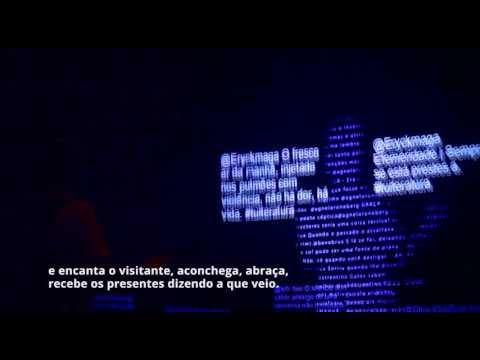 #Tuiteratura - Cenografia Interativa - Estudio Guto Requena + Atelier Marko Brajovic (portugues)