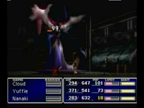 Final Fantasy 7 Jenova Fight 1