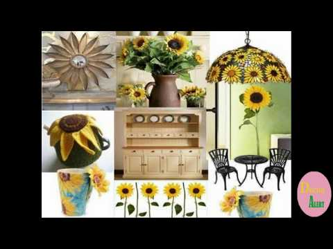 Latest Sunflower Home Decor Ideas Inspiration Best By Alert 2017