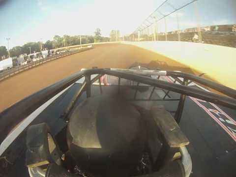 #66c Matt Cosner, hot laps, front view, Hagerstown Speedway 8-6-16