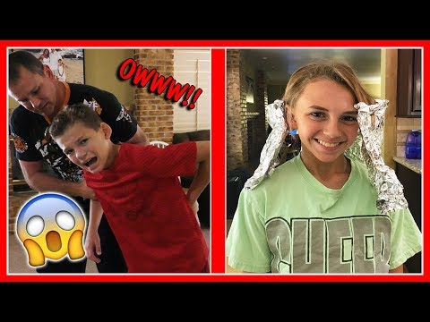 TYLER HURTS HIS BACK | KAYLA'S HAIR IS CHANGING | We Are The Davises