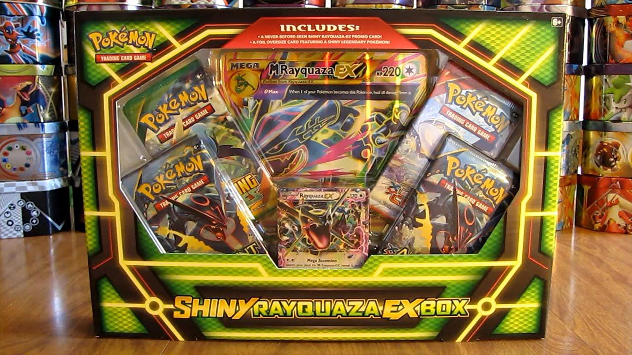Pokemon Shiny Rayquaza EX Box Opening - YouTube Wailord Pokemon Card