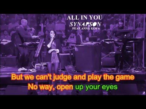 Lyrics - Synapson Feat. Anna Kova -  All In You