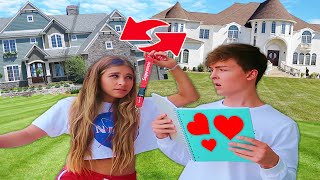 Swapping Houses with My GIRLFRIEND for 24 HOURS CHALLENGE!!